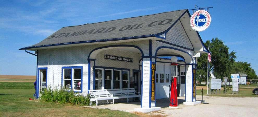 Odell Station, Odell