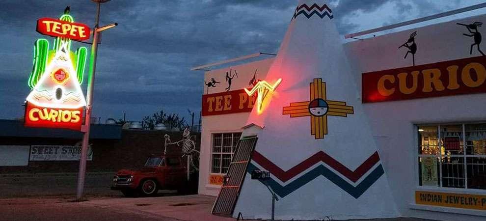 Teepee Curios, Tucumcari