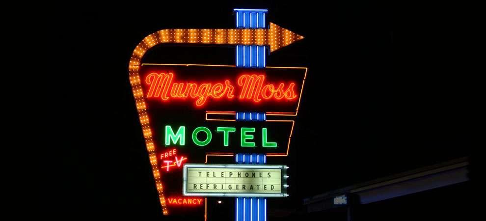 Munger Moss Motel, Lebanon