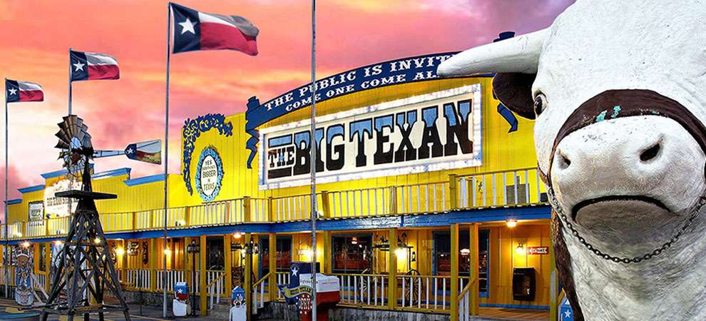 The Big Texan Steak Ranch, Amarillo