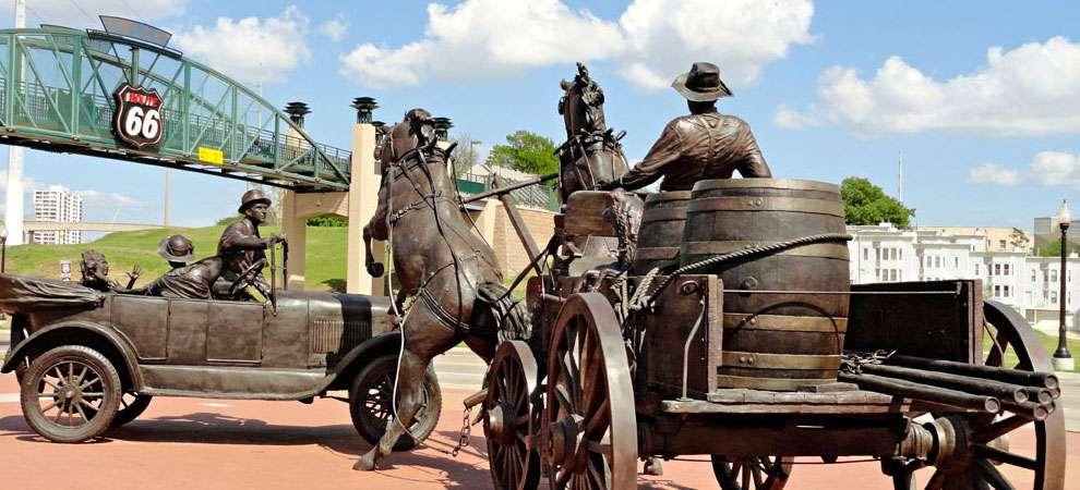 Cyrus Avery Centennial Plaza, Tulsa