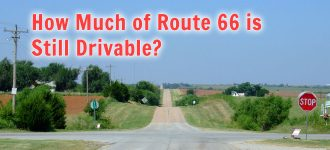 How Much of Route 66 is Still Drivable?