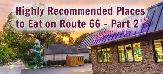 Highly Recommended Places to Eat on Route 66 - Part 2